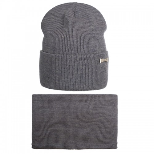 19 Z 284/1 k Winter hat with snood for boys