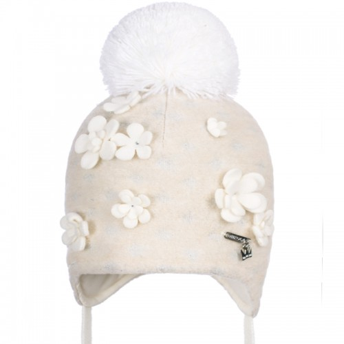 B 19 Z 322 Winter hat with earflaps for girls
