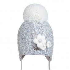 B 19 Z 312 Winter hat with earflaps for girls