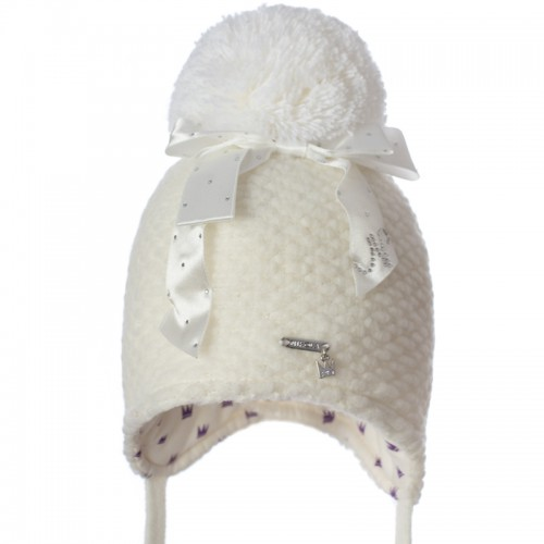 B 19 Z 337 Winter hat with earflaps for girls