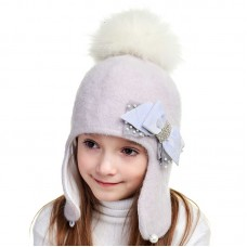 KSENIA Winter hat with earflaps for girls