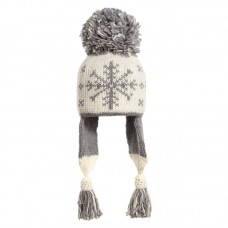 Lena female winter hat with earflaps