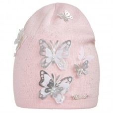 20 V 10 k Hat with a snood for girls