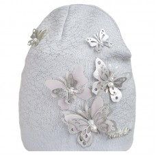 20 V 11 k Hat with a snood for girls