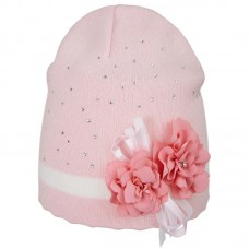 20 V 12 k Hat with a snood for girls