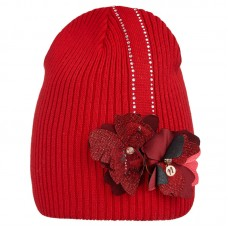 20 V 14 k Hat with a snood for girls