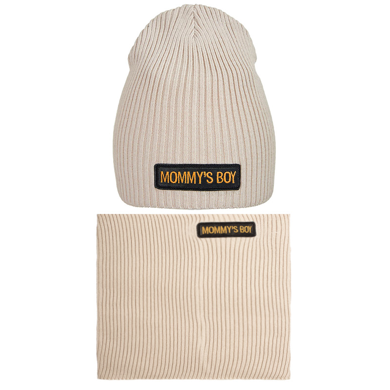 20 V 116 k Hat with a snood for boys