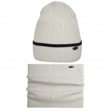 20 V 21 k Hat with a snood for boys
