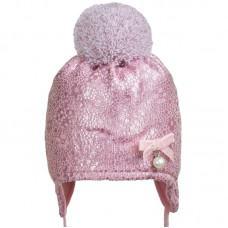 18 Z 237 Winter hat with earflaps for girls