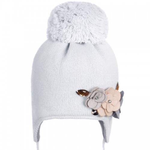 16 Z 19 Winter hat with earflaps for girls