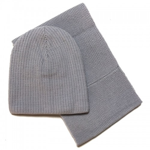 17 Z 75 k Winter hat with snood for boys