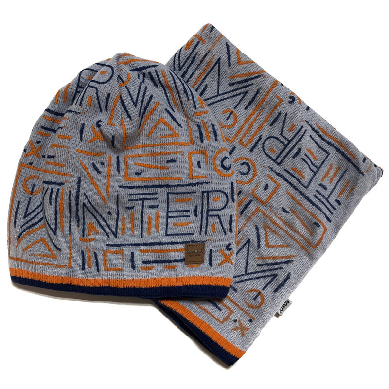 Agbo 1701 Leonard Winter hat with snood for boys