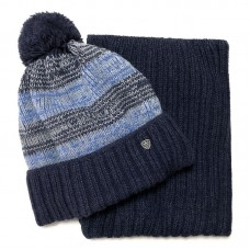 Agbo 2402 Gomez Winter hat with snood for boys