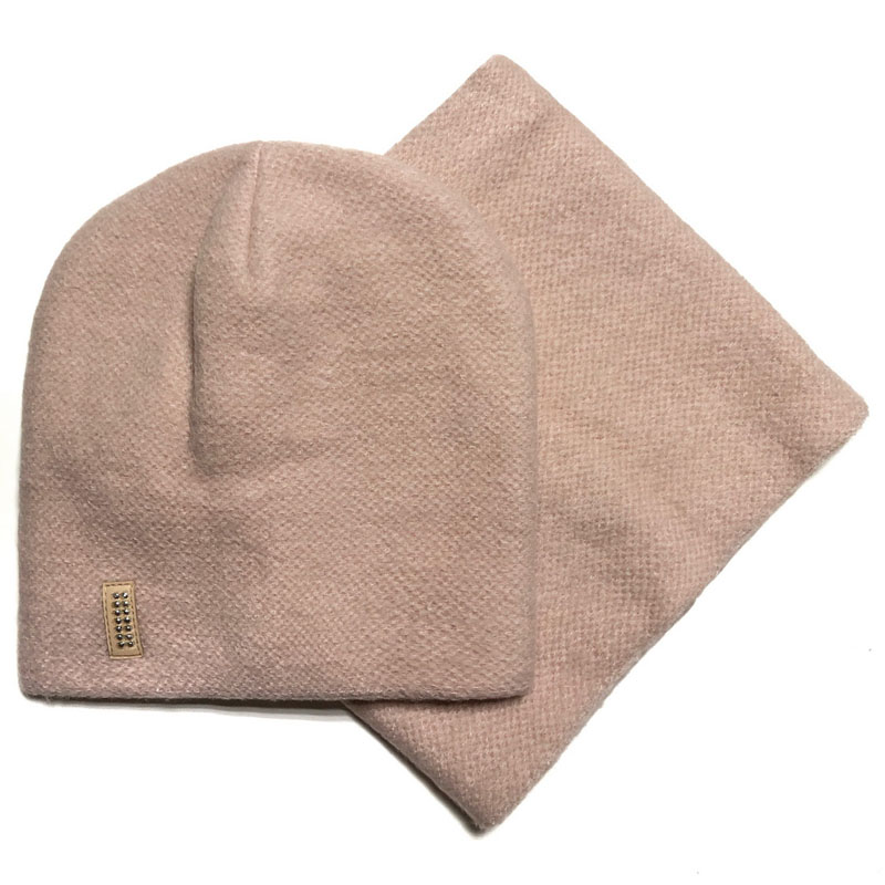 Agbo 2531 Karia Winter hat with snood for girls