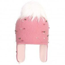 ANTONINA Winter hat with earflaps for girls
