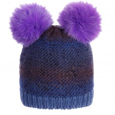 D-14-131 COFIL Winter hat with earflaps for girls