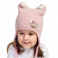 LORA Winter hat with earflaps for girls