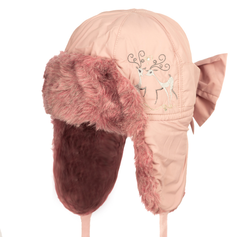 MARIA 52 Winter hat with earflaps for girls