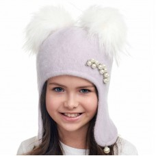 SONYA Winter hat with earflaps for girls